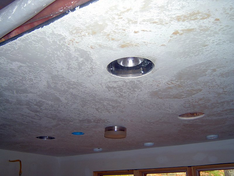 Click To Magnify Finishing The Kitchen Ceiling ...