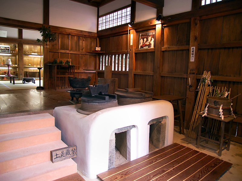 The kester house garden interior kitchen for Japanese traditional kitchen design